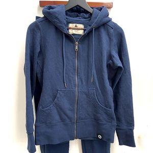 AMERICAN GIANT classic zip hoodie Pants S Navy